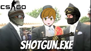 CS:GO - SHOTGUN EPIC MOMENTS 4 - COFFIN DANCE MEME JOIN THE BATTLE