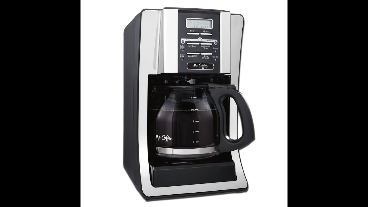 Mr Coffee Coffee Maker Keeps Beeping : Disabling Beeping on Mr. Coffee Coffee Maker 12 Cup BVMC-SJX33GT - YouTube
