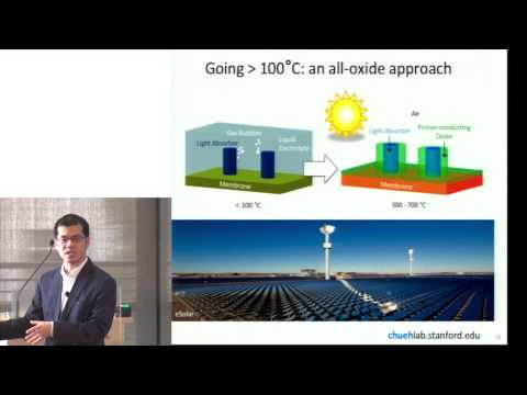 William Chueh | Paradigm-shifting materials insights for solar fuels and energy storage