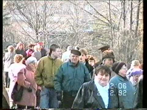 Grimma Abzug der Russen 1993
