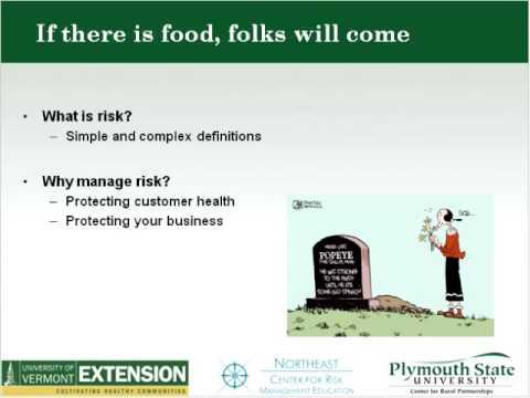 Managing Food Safety Risks in Agritourism (2011)