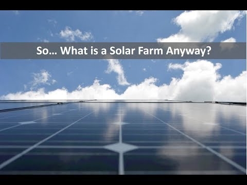 What is a Solar Farm? YEARLY Payments for you Excess Land!
