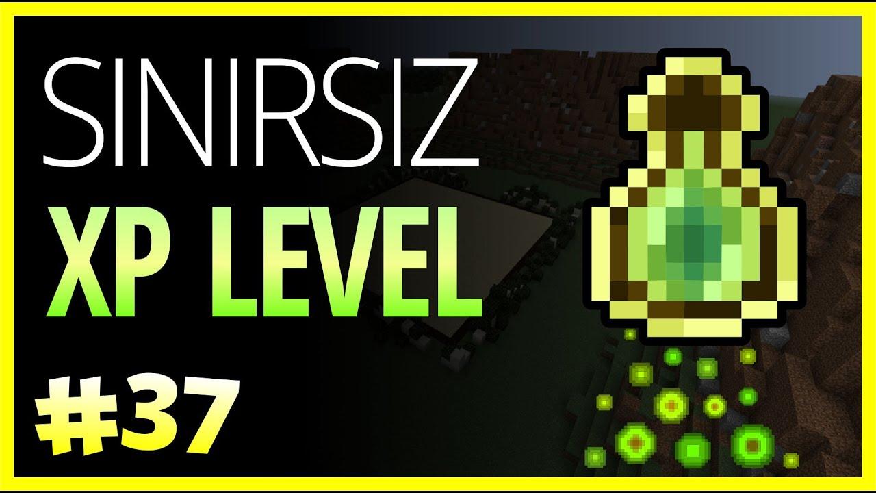 Sınırsız XP Level - Minecraft Türkçe Survival - Türkçe Minecraft - Bölüm 9