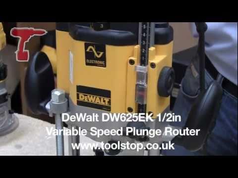 Dewalt router tagged videos midnight news dewalt dw625ek 12in variable speed plunge router greentooth Gallery