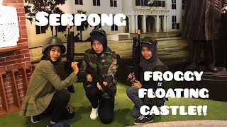 Let's To Froggy Floating Castle!!