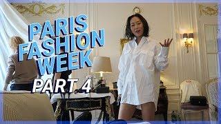 PFW Part 4: Louis Vuitton, Chanel, Prada, Snacks & Sacai | Vlog #79 | Aimee Song