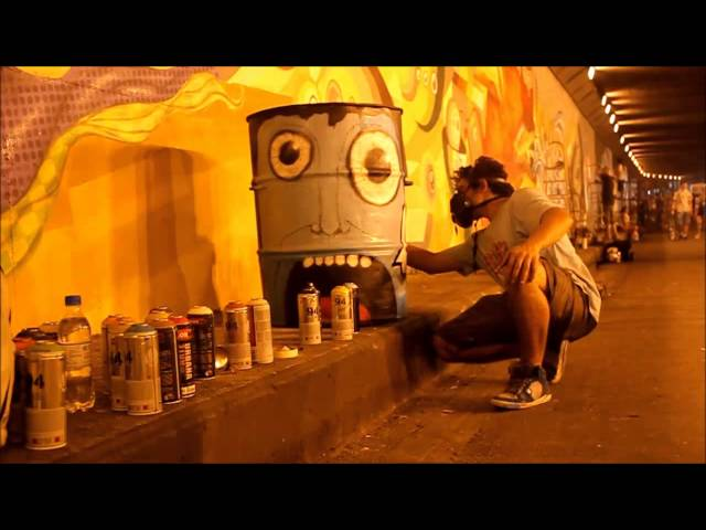 48 horas de arte - Meeting of Styles