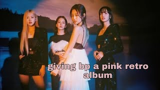Download Giving blackpink a pink retro album bc yg is still locking them in the dungeon