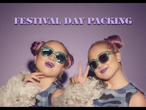Festival Day Packing | MTV FORA x Feria