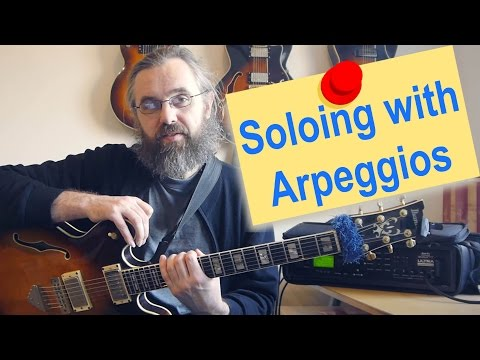 How to improvise with an arpeggio