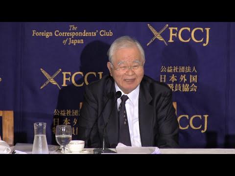 """Hiromasa Yonekura: """"TPP and Japan's Economy"""""""