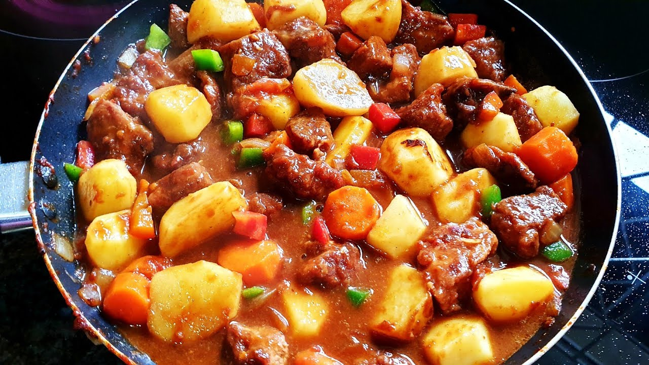 The Best Beef Stew Recipe Easy Beef Stew How To Cook Stew Beef Beef Stew Recipe South Africa Youtube