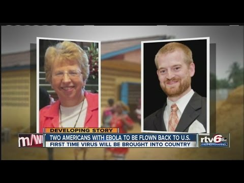 Two Americans with Ebola to be flown back to US