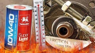 Wolver Super Light 10W40 Jak skutecznie olej chroni silnik? 100°C