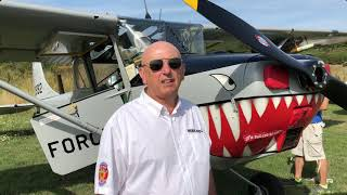 4th european Cessna L19 Bird Dog meeting at Goodwood and Sandown Isle of Wight in the UK 2018