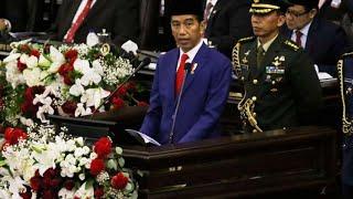 Presiden Jokowi Sampaikan Pidato di Sidang Tahunan MPR