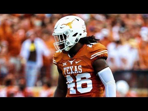 "Malik Jefferson Texas  Season Highlights ᴴᴰ  ""Welcome to Cincinnati"""