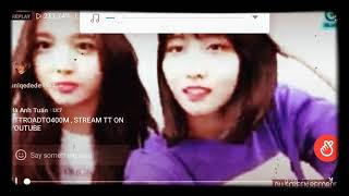 TWICE IN VLIVE