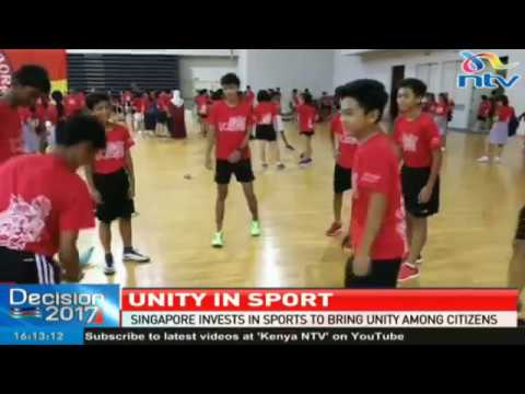 Singapore invests in sports to bring unity among citizens