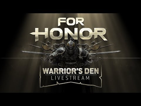 Warrior's Den Weekly Livestream - March 22nd 2018