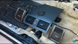 How To Remove Air Vents Honda Accord - Driver, Passenger Side & Middle Dashboard | DIY Auto Repair