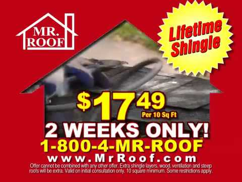 Mr. Roof   One Day Service With Edna