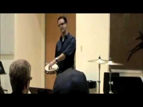 Scott Pollard Tambourine Clinic 2 - Cincinnati College-Conservatory of Music
