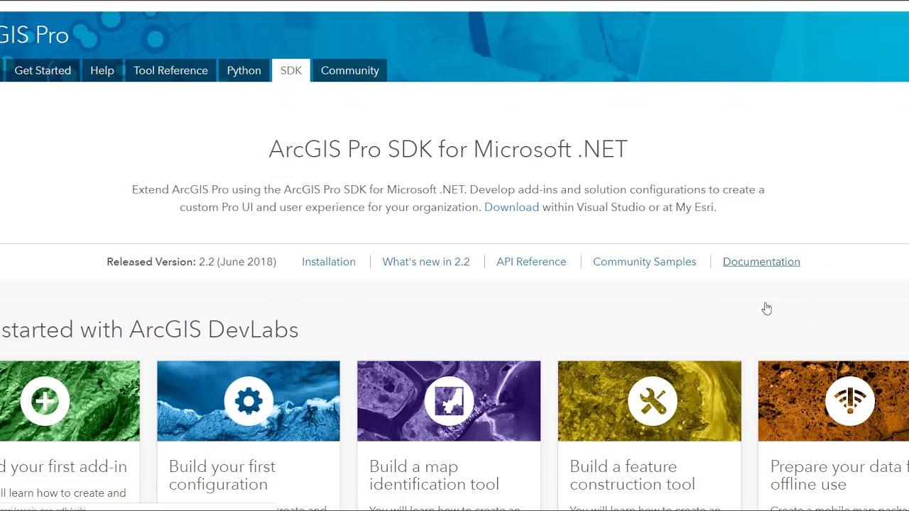 ArcGIS Pro SDK Resources - December 2018