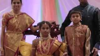 Sreeya's Saree Ceremony