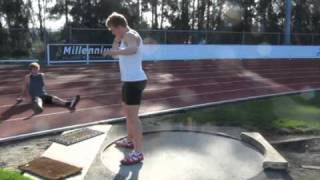 SHOT PUT Jacko GILL 20,01m 7,26kg World rec 23-04-2011 Auckland.m4v