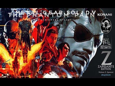 Metal Gear Solid V The Phantom Pain - Trailer cinematográfico en español