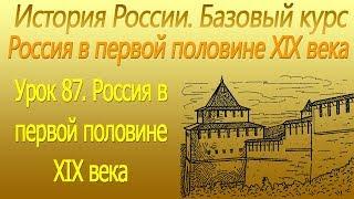 Россия в первой половине XIX века. Конституционный вопрос. Урок 87