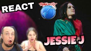 Baixar REAGINDO: JESSIE J - NOBODY'S PERFECT (ROCK IN RIO LISBOA 2018 REACT)