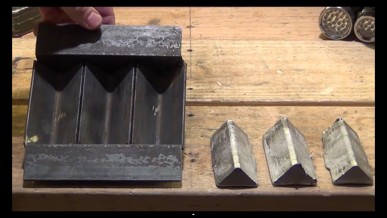 How To Make The Perfect 3 Cavity Ingot Mold HD YouTube