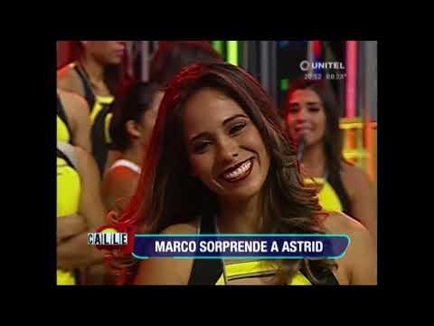 Marco sorprende a todos en especial a Astrid con todo lo que hizo y dijo