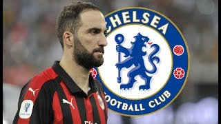Gonzalo Higuain | Welcome to Chelsea | All goals for Milan