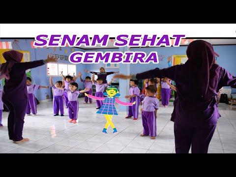 Senam Sehat Gembira, Anak2 Paud Anggrek.
