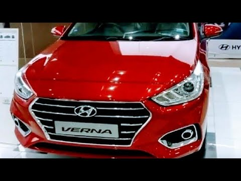 2017 New Hyundai Verna Fiery Red Colour Interior
