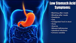 Low Stomach Acid Affects On Health