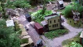 The Big Buck & Chipmunk Garden Railroad: Well Crafted Small Layout....