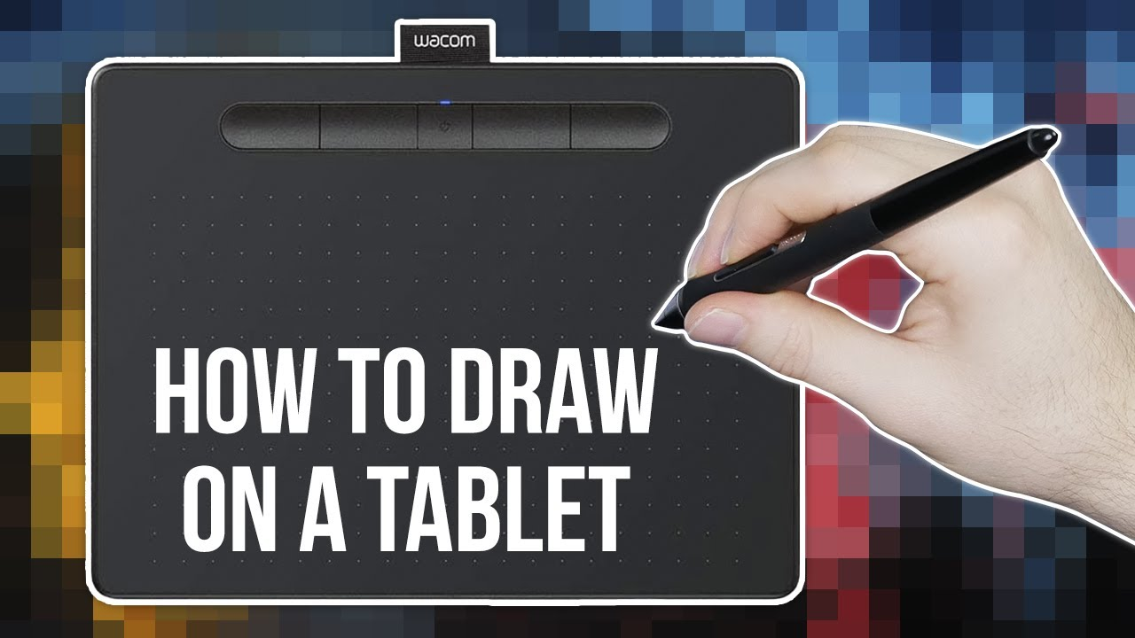 This is an image of Delicate Drawing Tablet Tutorial