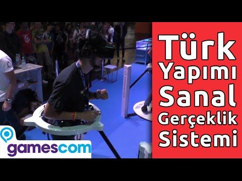 Türk Yapımı Sanal Gerçeklik Sistemi Cyberith Virtualizer