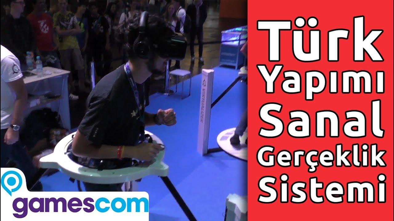 Türk Yapımı Sanal Gerçeklik Sistemi Cyberith Virtualizer'i Denedik!