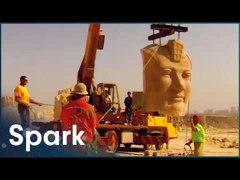 The Engineers Who Relocated Egypt's Ancient Temples | Huge Moves | Spark