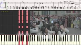 Семь сорок (Ноты и Видеоурок для фортепиано) (piano cover)