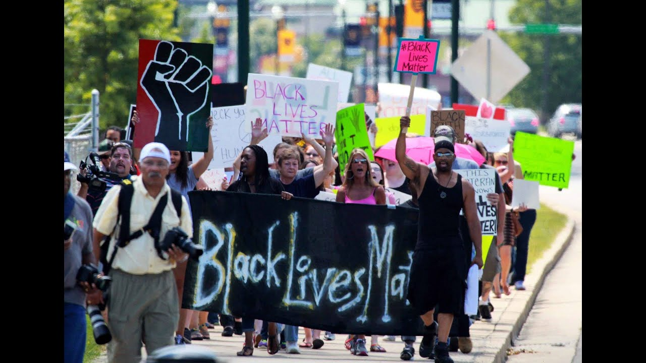 Black Lives Matter March - YouTube