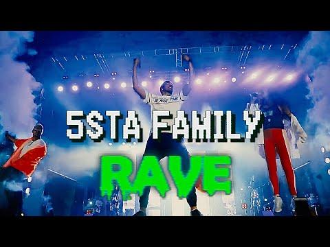 Смотреть клип 5Sta Family - Rave