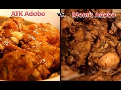 Americas Test Kitchen Chicken Adobo vs. My Moms Adobo