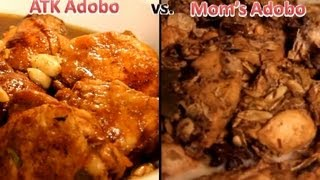 America's Test Kitchen Chicken Adobo Vs. My Mom's Adobo