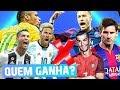 QUEM É MELHOR: TIMES OU SELEÇÕES? | FIFA 19 Experimentos